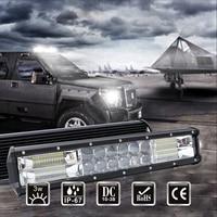 Led Bar Worklight Working Light Driving Lights Auto Accessories Werklamp Ramp Lightbar Spotlight Offroad 6500k 60W 240W 12V