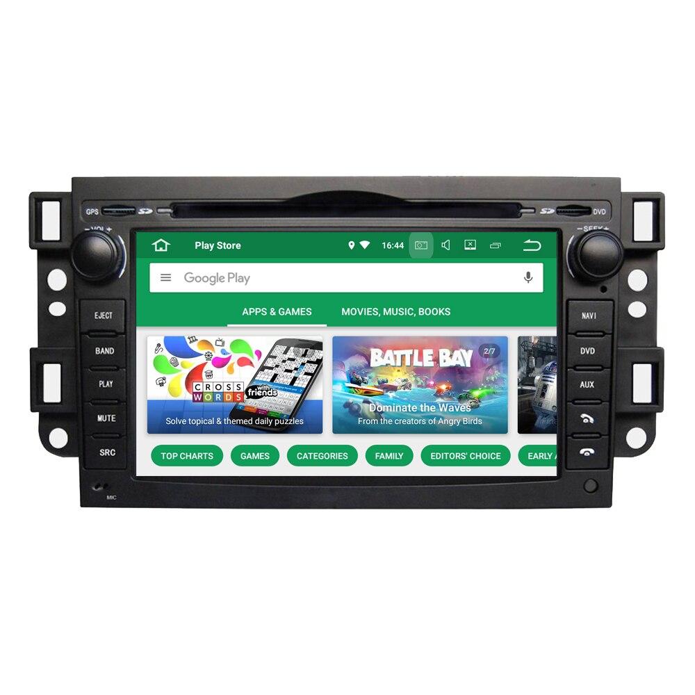 RoverOne Android 8.0 Octa Core autoradio DVD GPS média pour Chevrolet Epica Aveo Lova Captiva étincelle Optra Tosca Kalos Matiz Spark