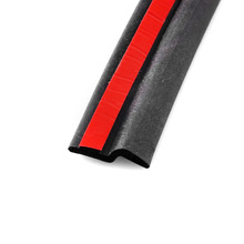 Car Seal Strip Type Z 2M 3M Weatherstrip Rubber Seals Trim Filler Door Noise Insulation Accessories