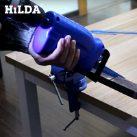 HILDA Reciprocating Saw Wood and Metal Cutting New Power Tool Accessories Tool Electric Drill Attachment With 3 Blades