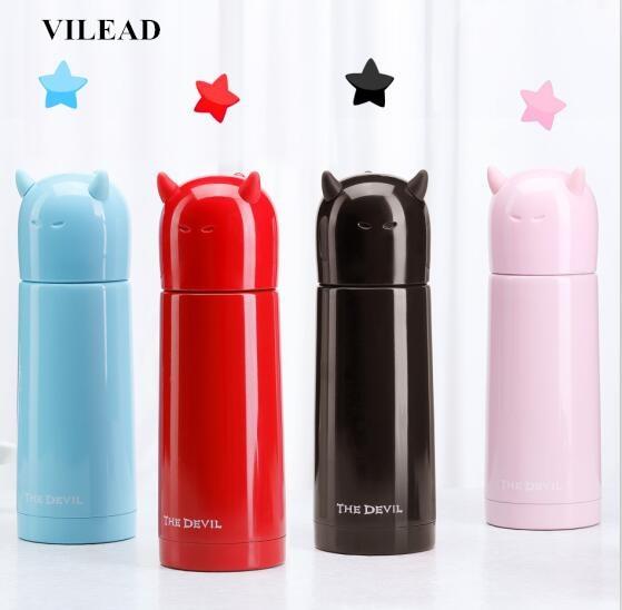 Acier Inoxydable fioles pour filtration sous vide thermos tasses étanche Portable Isolation Thermique