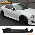 Fit 2013-2017 Scion FRS GT86 FT86 5 Five Design Style Side Skirts Poly-Urthane PU USA Domestic Free Shipping