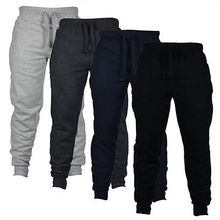 Men's Casual Sweat Pants Jogger Harem Trousers Slacks Wear Drawstring