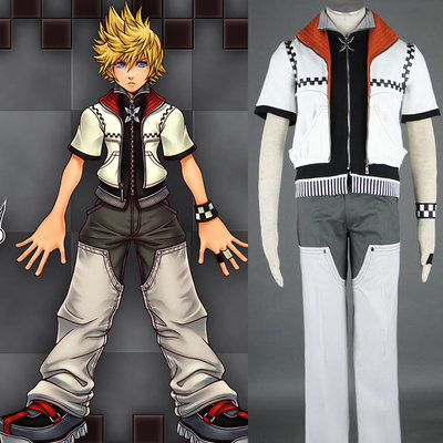 Roxas Cosplay Men Costumer Dress Cool The First Generation Outfit E63