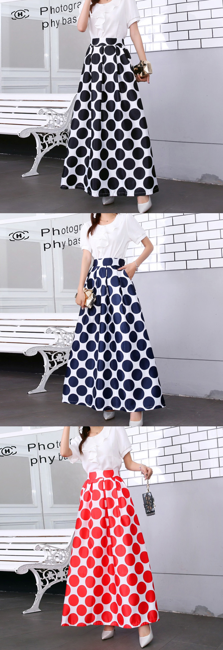 HTB16QqfUxnaK1RjSZFtq6zC2VXaI - Plus size Maxi Skirt Summer Fashion Vintage High Street A-line High Waist Floral Polka Dot Long Skirts for Women Jupe Longa