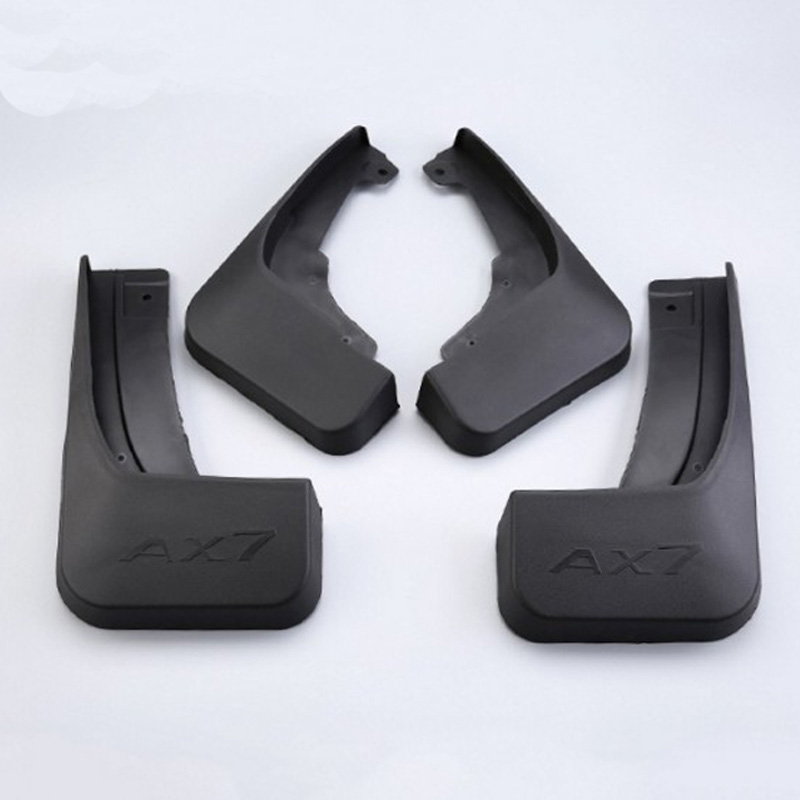 Free Shipping High Quality ABS Plastics Automobile Fender Mudguards Mud Flaps For Dongfeng Aeolus AX7