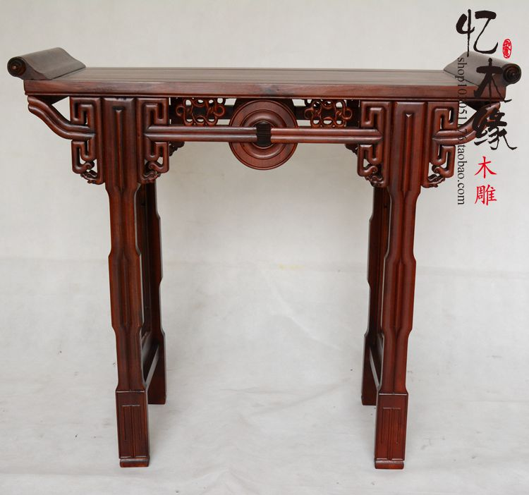 Mahogany furniture mahogany wood table a few Alice in the first case of Chinese Buddhist altar table entrance porch desk table