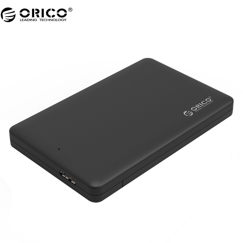 ORICO 2577U3 2.5 USB 3.0 SATA HDD Box HDD Hard Disk Drive External HDD Enclosure Black Case 2 5 sata external hard drive 250g hdd enclosure usb 3 0 shock resistant silicone case hard disk u23sf