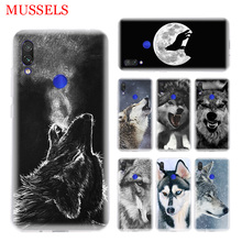 The Wolf Fierce Phone Case for Xiaomi Redmi S2 Y3 Y2 Note 7 7S 6 5 Pro 4 4X Mi F1 9 8 A2 Lite Pattern Cover Capa Coque