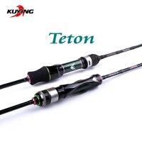 KUYING Teton 1,75 m 5'10 Carbon Spinning Casting Stream быстрая скорость действие Мягкая приманка Удочка палка трость 0,3 3g приманка