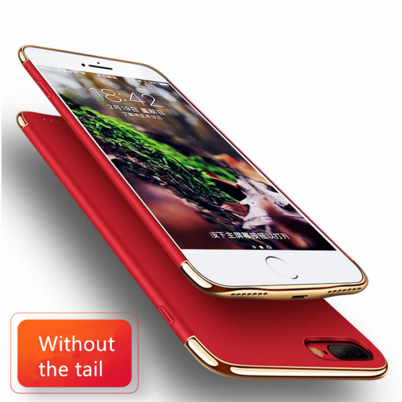 imágenes para Moda Del Caso Del Cargador Para el iphone 7/7 Plus 2500/3500 mAh Cubierta de la Caja Del Banco Paquete de Energía de Batería Externa portátil Para iPhone7