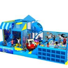 Новые детские домашние мягкие непослушный замок небольшая площадка структуру детей океан море лабиринт парк YLW-IN171048
