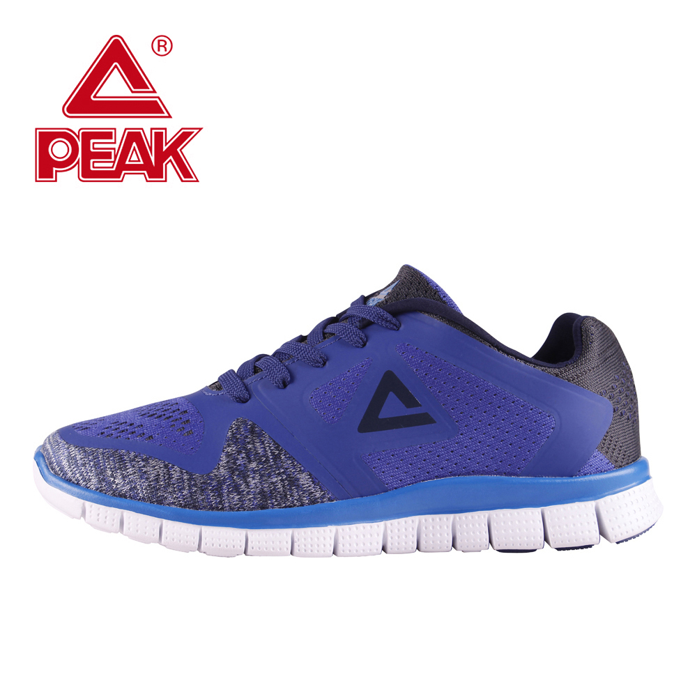 PEAK Men Sport Shoes Running Shoes Male Shoes Sneakers Free Run Shoes Outdoor Jogging Walking Light Weight Big size EU40-52 outdoor sport women high top running shoes genuine leather running boots sneakers women plus big size