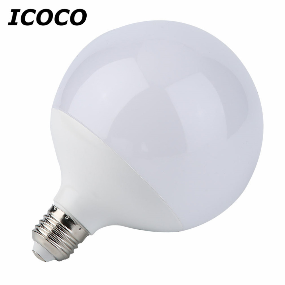 <font><b>3</b></font>/5/<font><b>7</b></font>/9/12/15 W Super Helle E27 LED Glühbirne Energie Sparen globale Ball Form Hause LED Licht Lampe Weiß/Warmweiß image