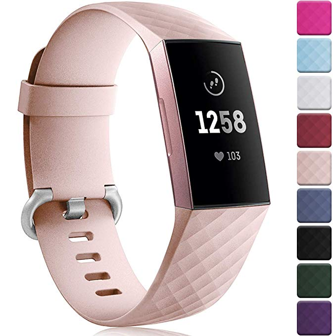 12 Colors Smart Watch Bracelet For Fitbit Charge 3 Strap Sport Replace Accessories For Fitbit Band Correa For Fitbit Charge3