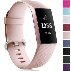 Image 1 - 12 ألوان أسورة ساعة ذكية ل Fitbit تهمة 3 4 حزام الرياضة استبدال الملحقات ل fitbit الفرقة correa ل fitbit charge3 4