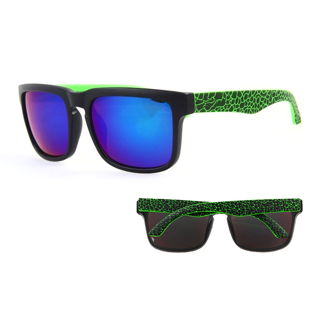 c1774ccee4289 Sunglasses KEN BLOCK Men s and Women Brand Designer Sun glasses Reflective  Coating Square Spied For Men