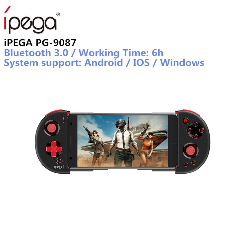 iPEGA PG-9087 Bluetooth Gamepad for Android / IOS Smart Phone PG 9087 Extendable Game Controller for Tablet PC Android Tv Box цена 2017