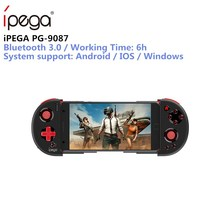 IPEGA PG-9087 Bluetooth Gamepad para Android/IOS teléfono inteligente PG 9087 extensible juego para Tablet PC Android Tv caja