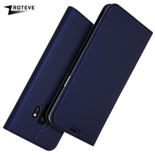 ZROTEVE For Samsung S9 Case PU Wallet Case Coque For Samsung Galaxy S9 Plus Leather Stand Flip Cover Case For Galaxy S9 Plus S9 cover case for samsung galaxy s9 luxury ultra thin flip stand pu leather