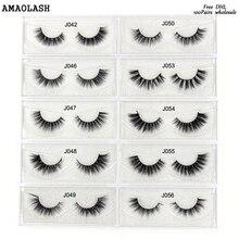 47803f52b5e AMAOLASH 100Pairs mink eyelashes 27styles High Volume reusable false  eyelashes lashes