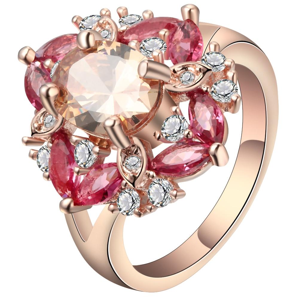 Ladies Rose Gold Beautiful Ring