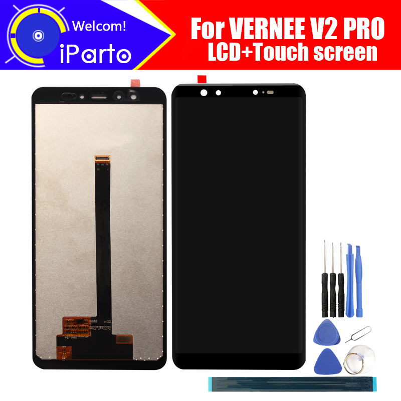 5.99 inch VERNEE V2 PRO LCD Display+Touch Screen Digitizer Assembly 100% Original New LCD+Touch Digitizer for VERNEE V2 PRO