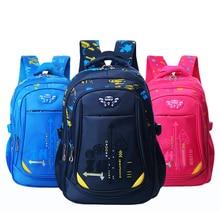 Nylon Children Backpack Primary Student Schoolbag For Teenager Boy Girl Mochila Big Capacity New Satchel Kid BookBag school bag
