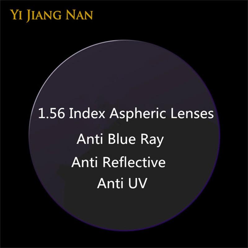 Yi Jiang Nan Brand 1.56 Index Anti Reflection Myopi og læsning - Beklædningstilbehør
