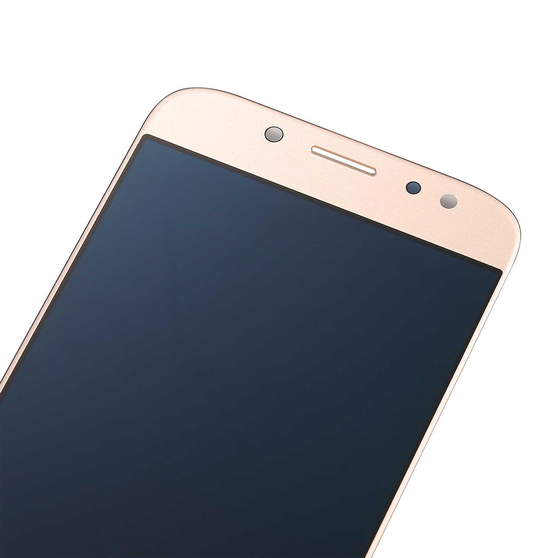 10 قطع الأصلي لسامسونج غالاكسي J7 برو 2017 SM-J730 J730F شاشة الكريستال السائل مع مجموعة المحولات الرقمية لشاشة تعمل بلمس استبدال