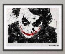 Joker Canvas Painting (3 Sizes)