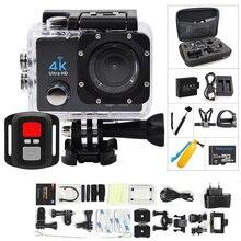 Экшн-камера 4 K Ультра HD WIFI gopro hero 4 Stlye 1080 P/30fps 2,0 lcd 170 объектив Дайвинг Водонепроницаемый 30 м DV Шлем камера Спортивная камера