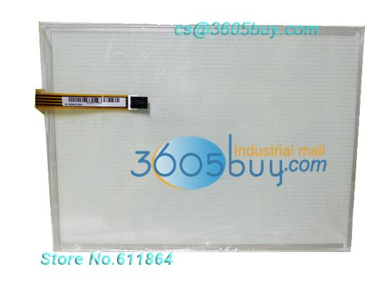 New 12.1 inch 4 Wire AMT9542 AMT 9542 Touch Screen Glass amt 146 115 4 wire resistive touch screen ito 6 4 touch 4 line board touch glass amt9525 wide temperature touch screen