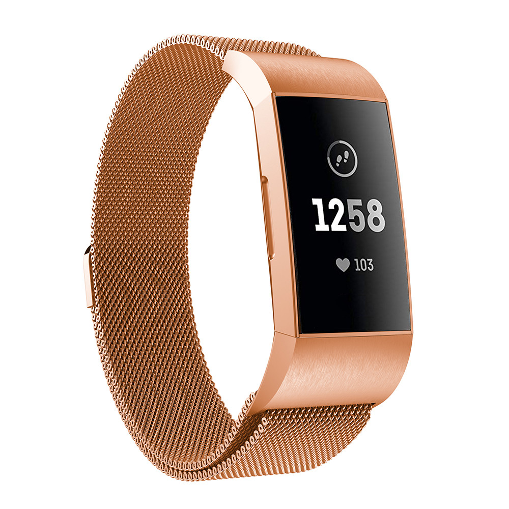 Milanese-Loop-Watchband-For-Fitbit-Charge-3-strap-Stainless-Steel-Wrist-Bracelet-belt-For-Fitbit-Charge (1)