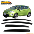 For 11-13 Ford Fiesta Hatchback Smoked Aero JDM Wind Deflector Stick On Window Visor USA Domestic Free Shipping