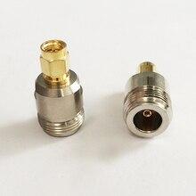 1 шт. N женский разъем SMA штекер RF коаксиальный адаптер конвертер прямой никелированный