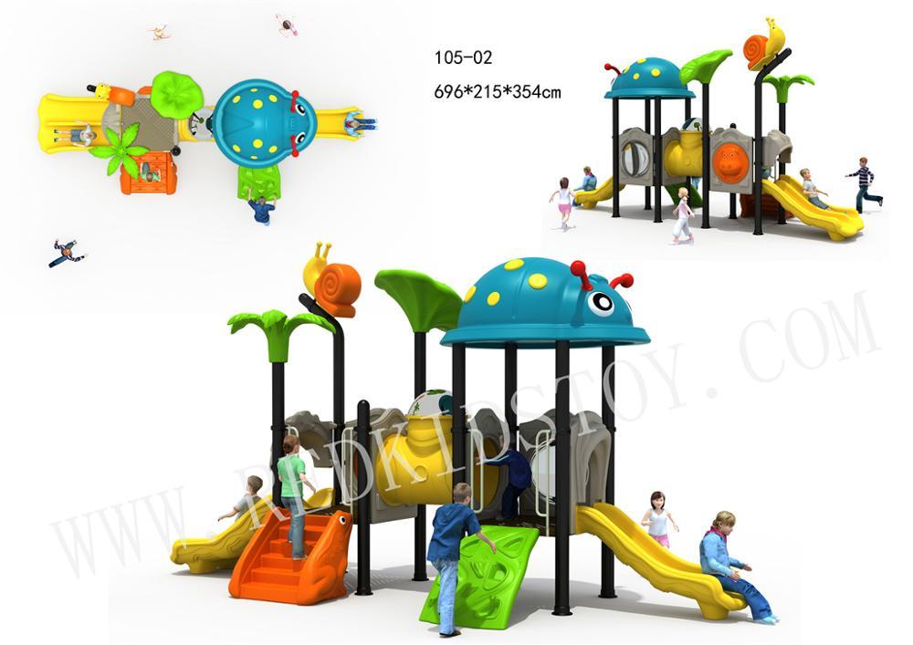 Équipement de jeu d'amusement de série animale de qualité supérieure pour des enfants HZ-10502