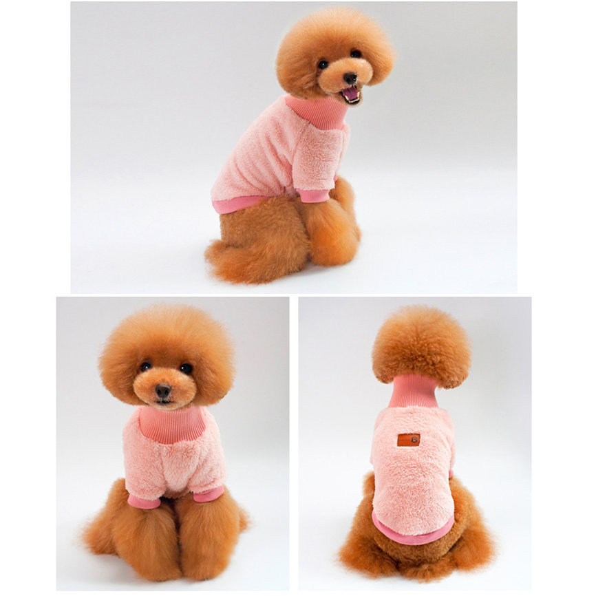 Small Dog Clothes Pet Dogs Cat Knitwear Dog Sweater Puppy Cotton Warm Coat Cheap Clothing S~XL Dropshipping &109