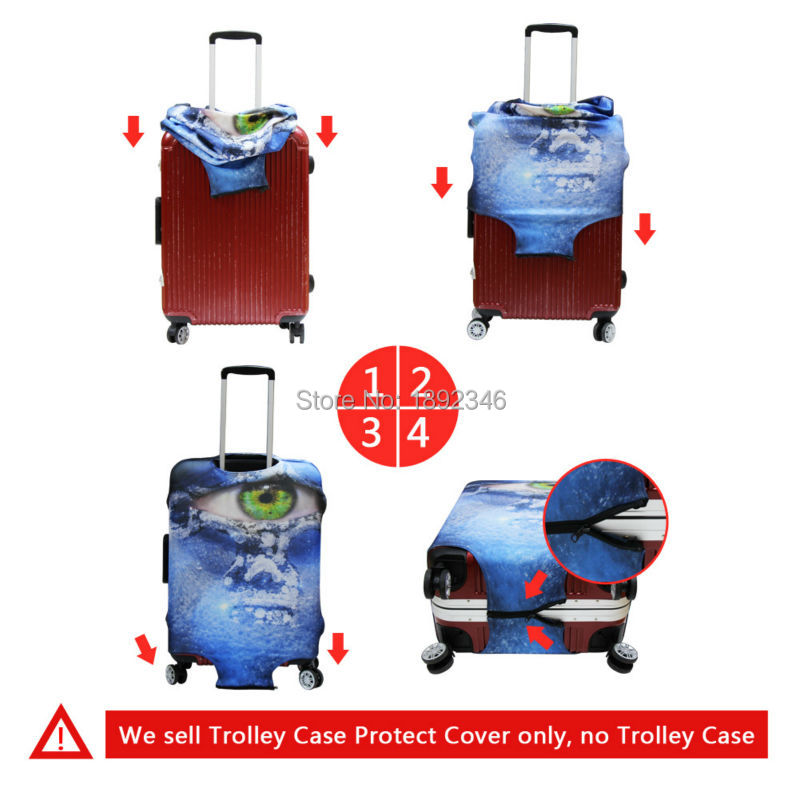 luggage cover suitcase
