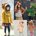 Cute Toddler Kids Baby Girls Boys Clothes Rabbit Bunny Dinosaur Fox Lion Shapes Hooded Coat Jacket Outwear Winter Suit