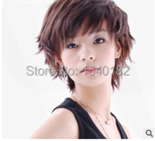 Fashion women short hair wigs high-grade mesh hat  fashion beautiful wig Wig wholesale