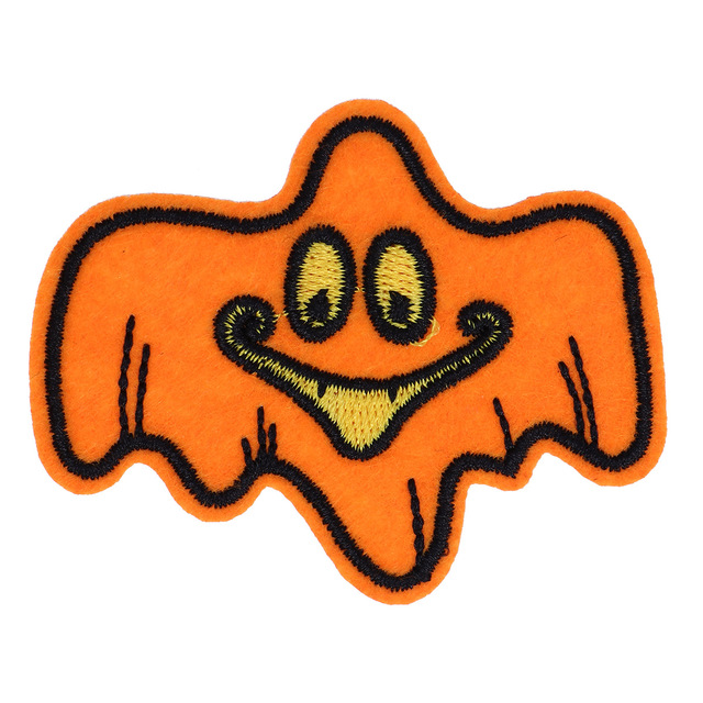 iron on patch halloween embroidered applique clothes patches sew on badges for hat scarf backpack clothing