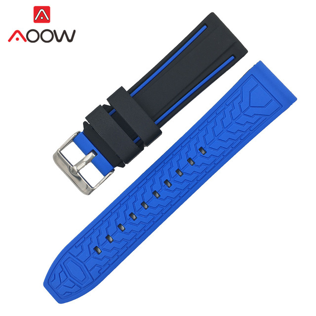 Soft Silicone Watchband 20mm 2…