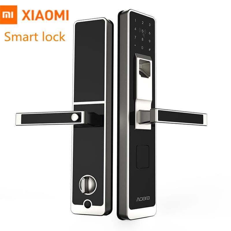Genuine Xiaomi Aqara Smart Lock Mi Porta Tocco Elettronico di Blocco Delle Impronte Digitali In Diretta Unlock Password di Controllo App per La Sicurezza Domestica