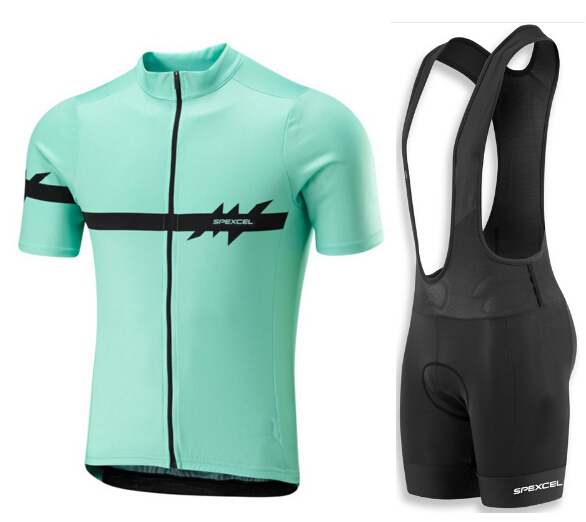 ФОТО SPEXCEL Pro Team Short Sleeve Bicycle Clothing Bike Sportswear Cycling Clothing Breathable Quick Dry Summer Cycling Jersey set