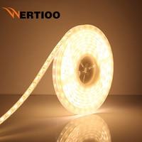 LED רצועת אור 5050 DC12V 60 נוריות/m 5 מטר\חבילה גמיש אור LED IP67 עמיד למים שפופרת סיליקון חם לבן לבן ירוק אדום כחול RGB
