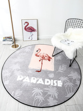 Flamingo Sofa Carpet Non-slip Living Room Coffee Table Mats Home Bedroom Computer Home Rug