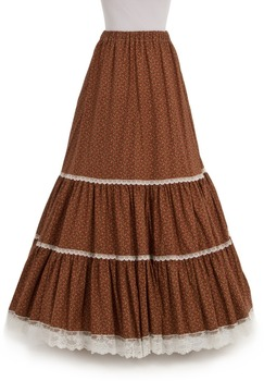 Dot Fashion Microfiber Wool Floor-Length  Ball Gown Shipping Long Victorian Skirts Amity Skirt