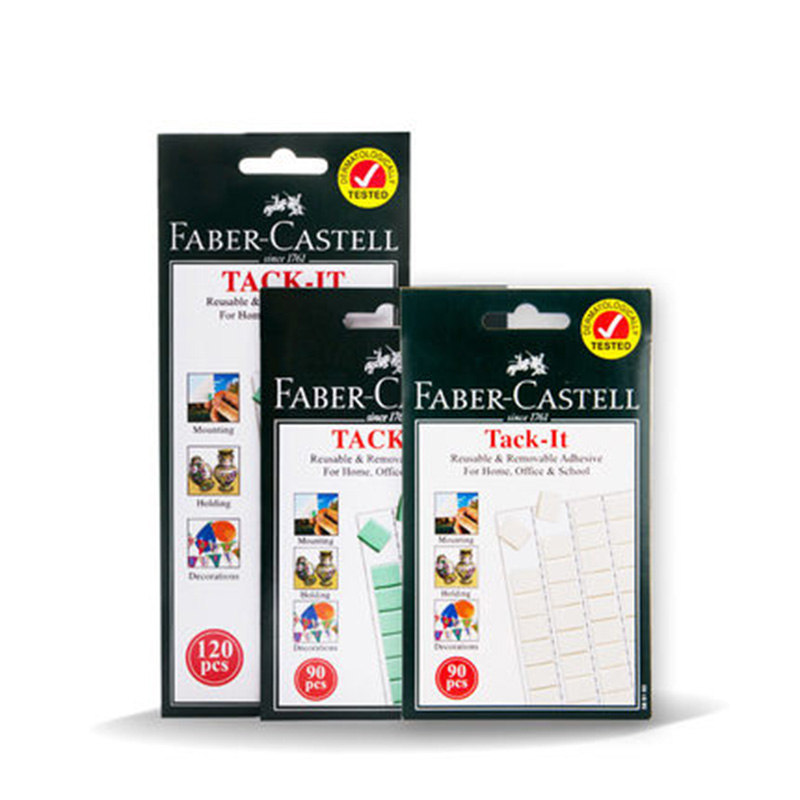 FABER CASTELL 75g/50g clay photos, wall, photo frame, no trace clay, glue paste, double-sided adhesive a 100pcs free shipping photo frame photo wall hangs a picture clasps solid wall nail contact non trace nail hooks
