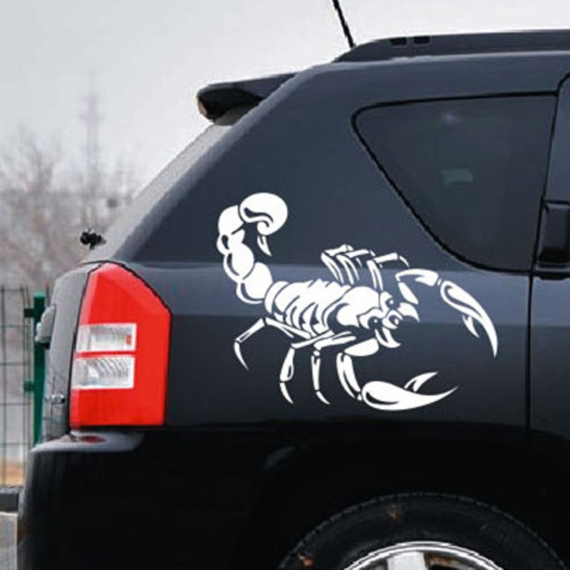 Scratches Shelter Cute Scorpion Car Stickers Car Styling Vinyl - Vinyl stickers on cars